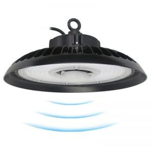 Smart motion sensor UFO LED high bay light 100w-240w