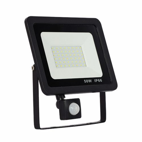 slim motion sensor LED flood light 10W-50W